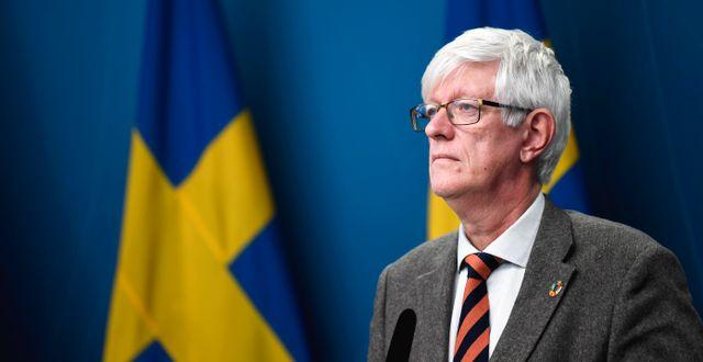 Folkhälsomyndighetens generaldirektör Johan Carlson. Arkivbild. Pontus Lundahl/TT / TT NYHETSBYRÅN