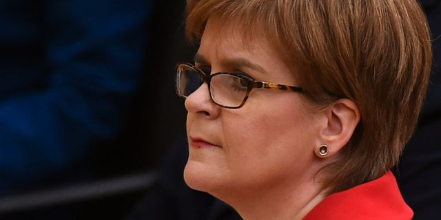 Nicola Sturgeon ANDY BUCHANAN / AFP