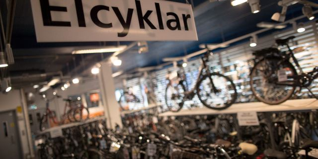 Elcyklar. Arkivbild. Björn Larsson Rosvall/TT / TT NYHETSBYRÅN