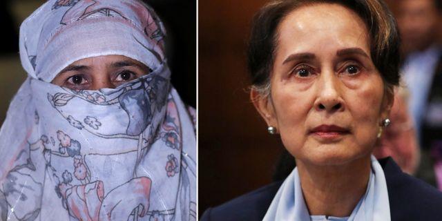 Hasina Begum/Aung San Suu Kyi. TT