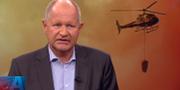 Dan Eliasson. Skärmdump från SVT:s Aktuellt.