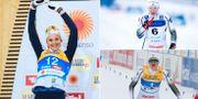 Stina Nilsson, Maja Dahlqvist, Jonna Sundling.  Bildbyrån, TT.