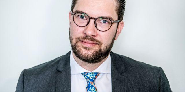 Jimmie Åkesson. Tomas Oneborg/SvD/TT / TT NYHETSBYRÅN