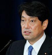Arkivbild: Japans försvarsminister Itsunori Onodera. Jacquelyn Martin / TT / NTB Scanpix
