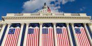 Capitol Building där amerikanska kongressen huserar.  Evan Vucci / TT NYHETSBYRÅN/ NTB Scanpix