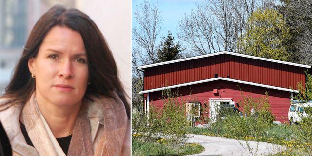 Åsa Waldau / Den numera nedlagda församlingens tidigare lokal i Knutby. TT