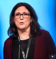Cecilia Malmström. Pontus Lundahl/TT / TT NYHETSBYRÅN
