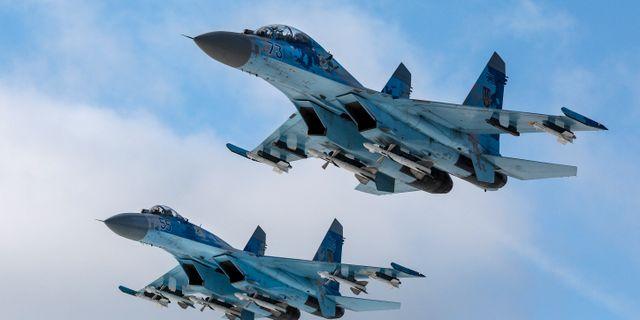 SU-27 Flanker Mikhail Palinchak / TT NYHETSBYRÅN/ NTB Scanpix
