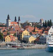 Vy över Visby på Gotland.  Fredrik Sandberg/TT / TT NYHETSBYRÅN