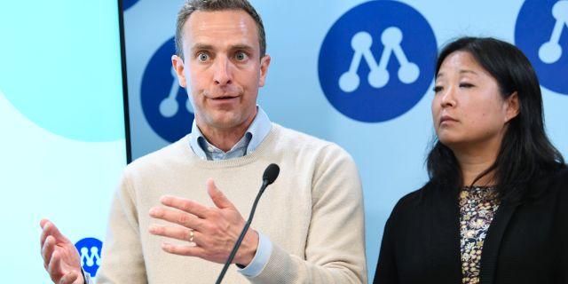 Moderaternas EU-kandidater Tomas Tobé, Jessica Polfjärd. Arkivbild. Jonas Ekströmer/TT / TT NYHETSBYRÅN