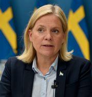 Magdalena Andersson. Robin Ek / TT / TT NYHETSBYRÅN