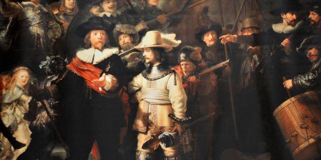 Rembrandt tavlan kan ha forts ur sverige