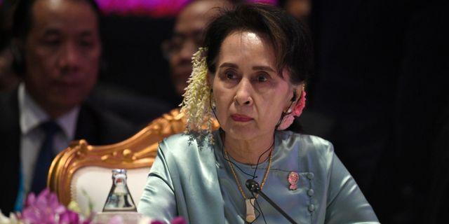 Aung San Suu Kyi. Chalinee Thirasupa / TT NYHETSBYRÅN