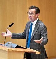 Ulf Kristersson. Claudio Bresciani/TT / TT NYHETSBYRÅN