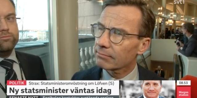 Ulf Kristersson. SVT