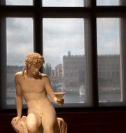 Interiör från Nationalmuseum. Arkivbild.  Staffan Löwstedt/SvD/TT / TT NYHETSBYRÅN