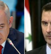 Benjamin Netayahu ocj Bashar al-Assad TT
