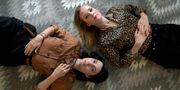 Ruth Vega Fernandez och Maja Rung ska ska spela Lina och Elena. Janerik Henriksson/TT / TT NYHETSBYRÅN