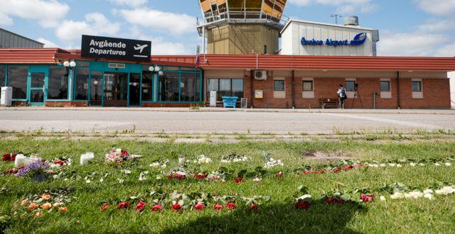 Örebro flygplats.  Kicki Nilsson/TT / TT NYHETSBYRÅN