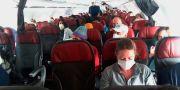Bild på en flight från Peru, som är ett av länderna där flera svenskar sitter strandade. anonymous / TT NYHETSBYRÅN