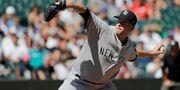Yes Network har bland annat sändningsrättigheterna till Yankees-matcher.  Ted S. Warren / TT NYHETSBYRÅN