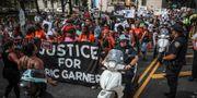 Demonstration för att visa stödja för Eric Garner. Bebeto Matthews / TT NYHETSBYRÅN/ NTB Scanpix