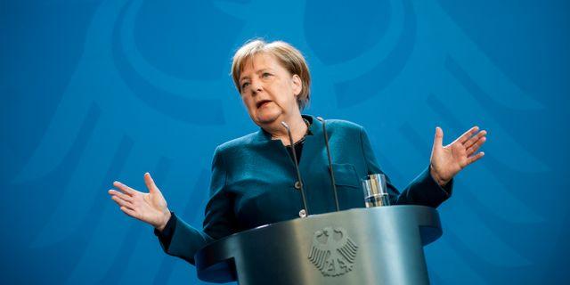Angela Merkel  POOL / TT NYHETSBYRÅN