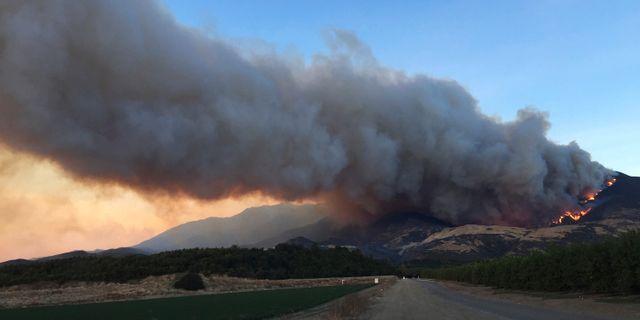 Skogsbrand i Kalifornien vintern 2017 Amanda Lee Myers / TT NYHETSBYRÅN