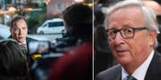 Stefan Löfven och Jean-Claude Juncker. TT
