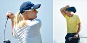 Anna Nordqvist och Henrik Stenson vid OS i Rio de Janeiro. Bildbyrån