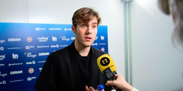 Benjamin Ingrosso. Stina Stjernkvist/TT / TT NYHETSBYRÅN