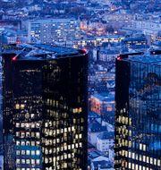 Deutsche Banks huvudkontor i Frankfurt. Michael Probst / TT NYHETSBYRÅN/ NTB Scanpix