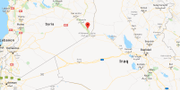 Hajin, Syrien.  Google maps.