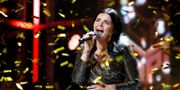 Ulrikke Brandstorp tog hem norska Melodifestivalen efter stor dramatik. TORE MEEK / NTB Scanpix
