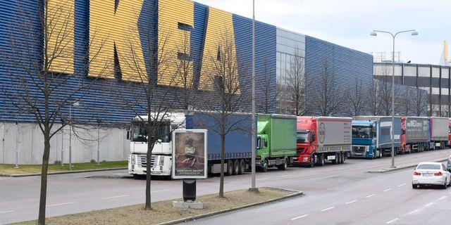 Ikea i kungens kurva.  Fredrik Sandberg/TT / TT NYHETSBYRÅN