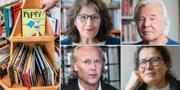 Jilla Mossaed, Jan Gullliou, Klas Östergren och Sigrid Combbüchen finns bland de som skrivit under debattartikeln. TT