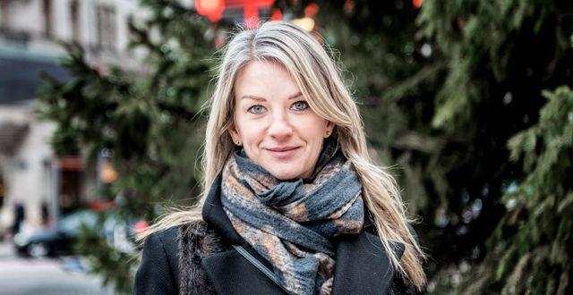Maria Landeborn, Danske Bank. Tomas Oneborg/SvD/TT / TT NYHETSBYRÅN