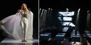 Ionnalee och Menke framför en Avicii-hyllning på P3 Guldgalan. TT