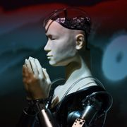 Roboten Kannon. CHARLY TRIBALLEAU / AFP