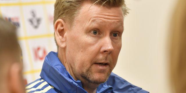 Assisterande förbundskapten Peter Wettergren. Jonas Ekströmer/TT / TT NYHETSBYRÅN