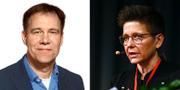 Demokraternas partiledare Martin Wannholt och kommunstyrelseordföranden Ann-Sofie Hermansson (S)