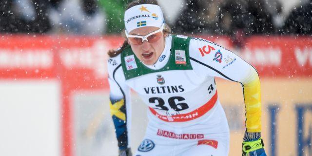 Linn Sömskar. Anders Wiklund/TT / TT NYHETSBYRÅN