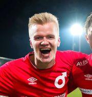 Axel Lindahl till vänster.  MICHAEL ERICHSEN / BILDBYRÅN