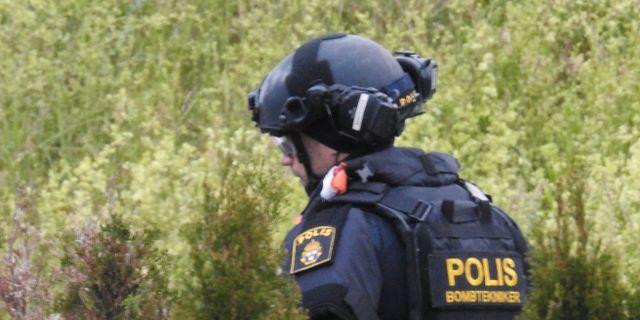 Polisen bombexperter. Arkivbild.  Pontus Stenberg / TT / TT NYHETSBYRÅN