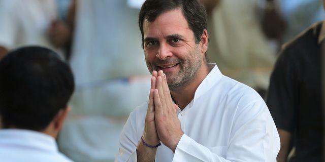 Rahul Gandhi. Manish Swarup / TT NYHETSBYRÅN/ NTB Scanpix