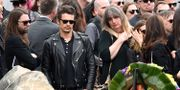 James Franco på Chris Cornells begravning i Los Angeles.  Chris Pizzello / TT / NTB Scanpix