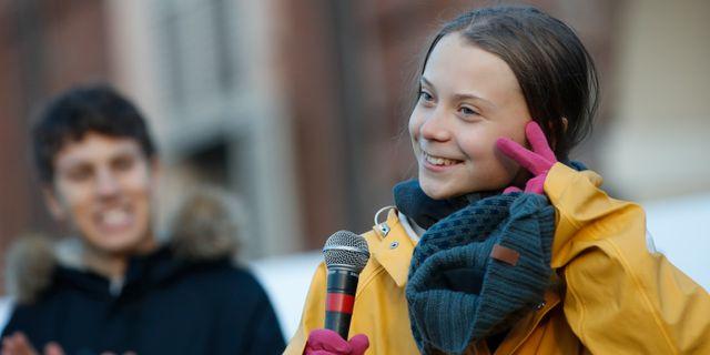 Greta Thunberg Antonio Calanni / TT NYHETSBYRÅN