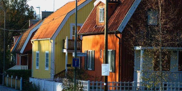 Arkivbild: Villor nära Enskede gård i Stockholm. HASSE HOLMBERG / TT NYHETSBYRÅN