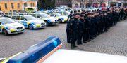 Arkivbild. Minnesstund för avliden polis i Malmö.  Johan Nilsson/TT / TT NYHETSBYRÅN