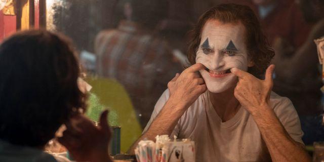 """Joaquin Phoenix i film """"Joker"""". Niko Tavernise / TT NYHETSBYRÅN"""
